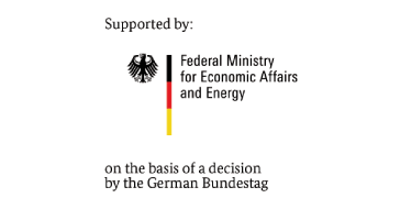 Supported by: Federal Ministry for Economic Affairs and Energy on the basis of a decision by the German Bundestag